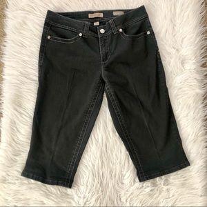 Nine West black Capri jeans, size 30/10